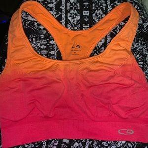 Champion pink & orange sports bra